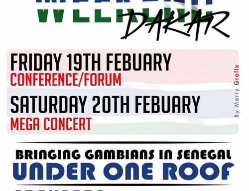 "TEAM KILLA ACE PRESENTS ""GAMBIAN INDEPENDENCE WEEKEND PROGRAMME IN DAKAR"