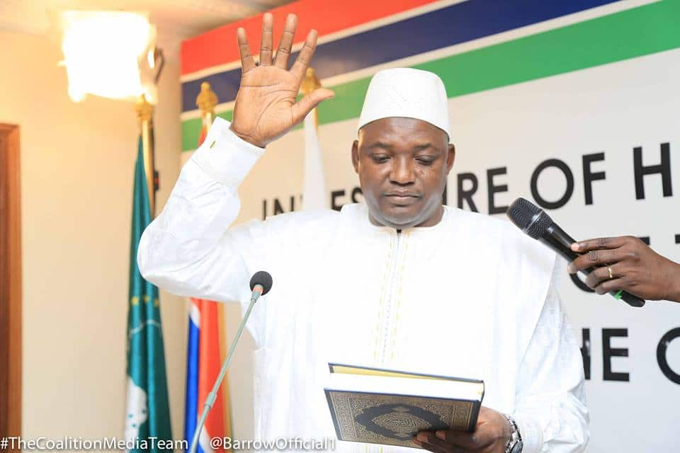 INAUGURAL ADDRESS OF H.E. ADAMA BARROW PRESIDENT OF THE REPUBLIC OF THE GAMBIA