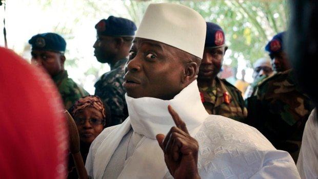 Equatorial Guinea opposition denounces arrival of Gambia's Jammeh