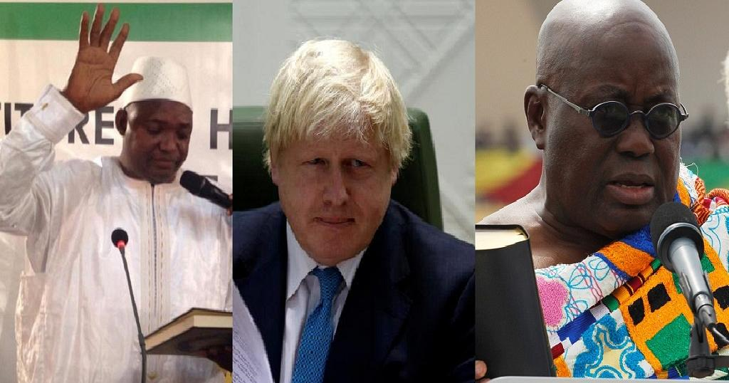 Gambia welcomes British FM for first time since independence