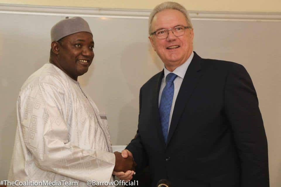 EU pledges 75 million Euro aid to Gambia after two-year suspension