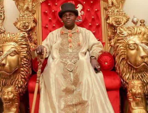 Nigerian king HRH Dr Chu visits Gambia