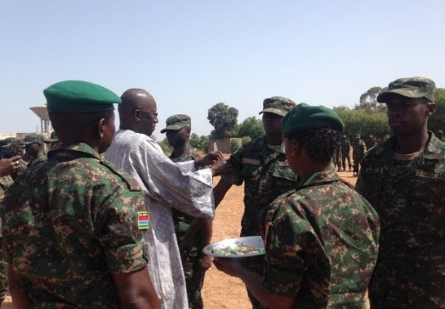 Soldiers Promoted To Various Ranks | Gambia Radio Stations