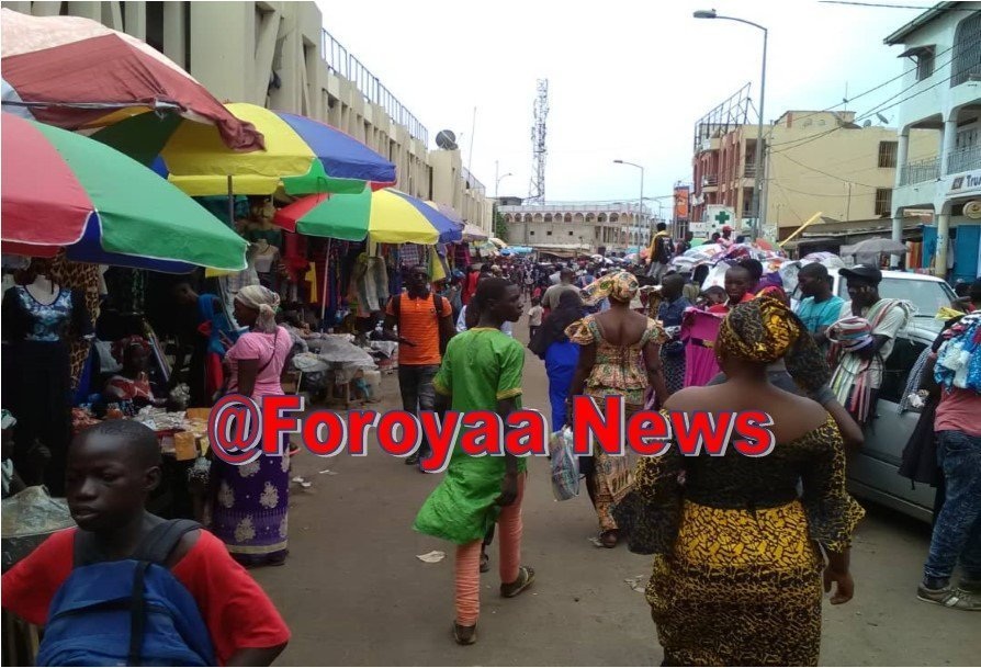 Anti-Crime Officers Effect Some Arrests at Serrekunda Market